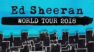 Ed Sheeran Metlife Stadium Seating Chart Ed Sheeran At Osaka Jo Hall Japan On 11 Apr 2018 Ticket