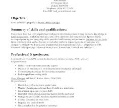 Resume Objective Cashier Best of Example Resume For Cashier Skills For Cashier Example Free Sample