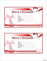 free gift certificate template business voucher word certificates editable small