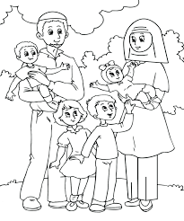 Word Family Coloring Pages Coloring Pages Family Members Rivetcolor Co