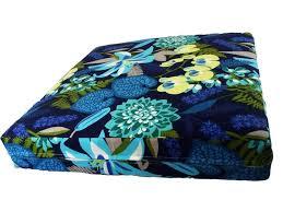tropical blue seat cushions marine blue