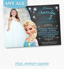 elsa birthday invitations elsa invitation frozen chalkboard invitation frozen invitation