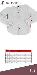Sean John Grayred 2xl Sidedetail Button Down Shirt Sean John