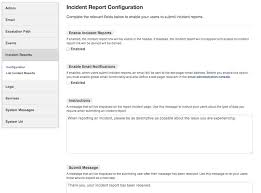 Incident Reports System Status Dashboard