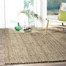jute rugs 8x10 8x10 jute rug jute rug casual natural fiber hand woven natural grey chunky