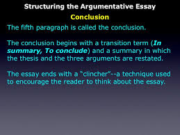 the persuasive essay structuring the argumentative essay conclusion 29
