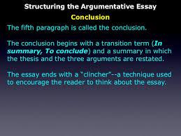 the persuasive essay structuring the argumentative essay conclusion 29