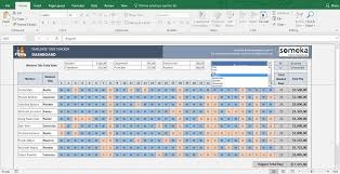 Excel Employee Time Sheet Employee Time Tracker And Payroll Template