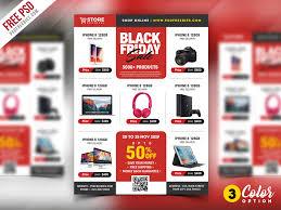 sale flyers 35 black friday psd flyer templates decolore net