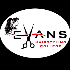 footer logo evans hairstyling college