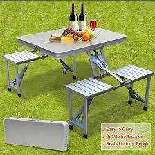 aluminum picnic tables. 2018 Smartlife High Quality Outdoor Aluminum Split Folding Tables And Chairs Portable Barbecue Picnic From Anna_smartlife, $150.66 | Dhgate. F