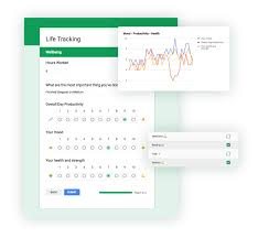 Activity And Mood Monitoring Chart Track And Analyze Your Life Habits With Google Apps