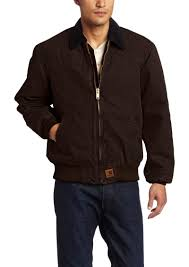 Carhartt Carhartt Men's Quilted Flannel Lined Sandstone Santa Fe ... & Carhartt Men's Quilted Flannel Lined Sandstone Santa Fe Jacket Adamdwight.com