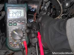 mercedes wiring diagram resources mb medic digital air multimeter test shifter problems