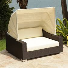 brown set patio source outdoor. Source Outdoor King Espresso Wicker Daybed With Solid Cushion Brown Set Patio I