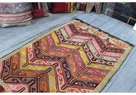 vintage rug 3 x 4 5 feet cm kilim rugs for