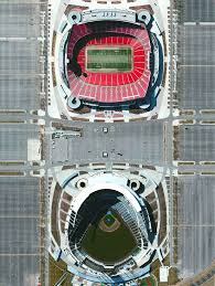Arrowhead Stadium Kauffman Stadium Kansas City Missouri