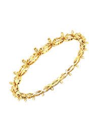Kalyan Jewellers Anklets Designs With Price Buy Candere By Kalyan Jewellers 18 Kt Gold Bangle Online At