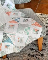 Winter Fawn Patchwork Pillow and Quilt Set - Hawthorne Threads Blog & Quilt and pillow edited -10 Adamdwight.com