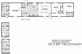 45 unique image 16x80 mobile home floor plans