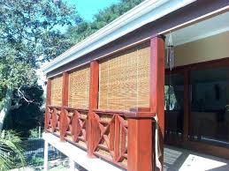 bamboo blinds for outside patio image of custom outdoor shades french doors