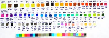 Colored Pencils Blank Rcw