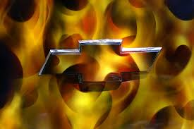 flaming chevy emblem. Unique Flaming Flaming Chevy Logo In Emblem F