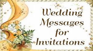 Wedding Inviting Words Wedding Messages For Invitations Wedding Invitation Wording