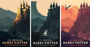 magical vine harry potter book covers by olly moss