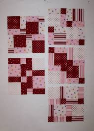 Best 25+ Disappearing 9 patch ideas on Pinterest | Disappearing ... & valentine's day fabric quilted table runner disappearing nine 9 patch  squares Adamdwight.com