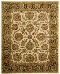 jaipur ja31 ivory brown area rug by nourison