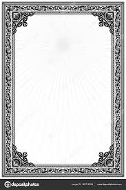 white certificate frame simple black white certificate frame border tangier design