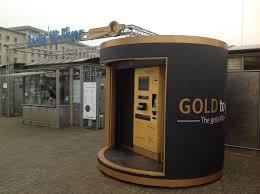 Gold Bullion Vending Machine Best Gold Vending Machine Delivers Gold Bullion And Bricks On Demand