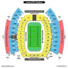 48 Exact At7t Stadium Seating Chart