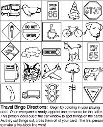 Small Picture Travel Bingo Board 4 crayolacouk