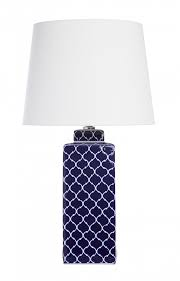 moroccan navy table lamp navy table lamp a23