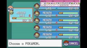 Pokemon Emerald Rarity Chart Pickup Ability Pokemon Fr Lg