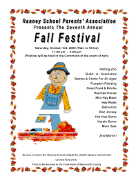 Fall Festival Flyers Template Free Free Fall Festival Flyers Barca Fontanacountryinn Com