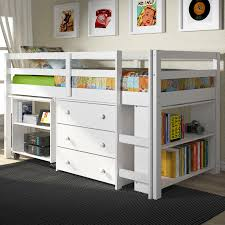 Bedroom. Kids Low Loft Beds Will Bring Your Children Relax Time ...
