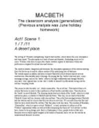 essay on macbeth act scene lab report paper writers macbeth act 1 scene 7 essay opt for professional and