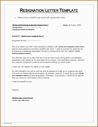 Sample Resignation Letter Doc Valid Format In Malaysia Notice