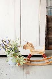 handmade wooden toy rocking horse by friendly toys australia