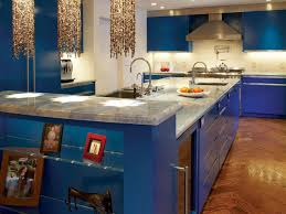Creative of DIY Blue Kitchen Ideas in Home Remodel Plan with Diy Painting  Kitchen Cabinets Home Design Furniture Decorating 2017
