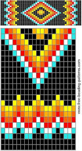 free seed bead loom patterns infoupdate org