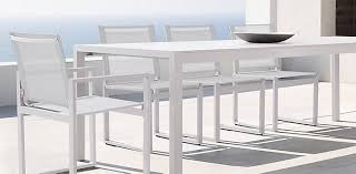 furniture aluminum resin 7 piece dining table and nice decoration white outdoor dining table aegean aluminum collection fresh