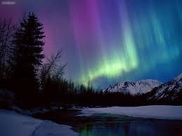 Purple Northern Lights Background Wonderful Purple Northern Lights Wallpaper Background