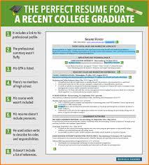 10 College Graduate Resume Templates Resign Latter
