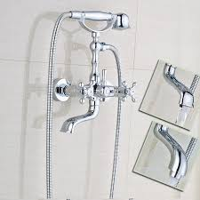 wall mounted bathtub faucets best tub faucet best koko led waterfall wall mount bathtub filler stock