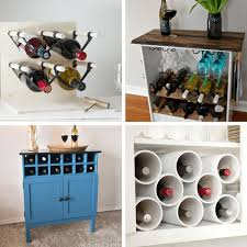 unique wine rack ideas. Roundup Of 24 Awesome DIY Wine Racks You Can Make Home Decor Throughout Unique Rack Ideas