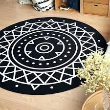 black and white round rug s nz striped ikea runner